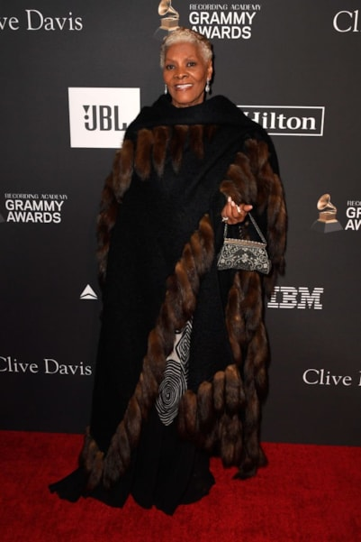 BEVERLY HILLS, CA - FEBRUARY 09:  Dionne Warwick attends the Pre-GRAMMY Gala and GRAMMY Salute to Industry Icons Honoring Clarence Avant at The Beverly Hilton Hotel on February 9, 2019 in Beverly Hills, California.  (Photo by Frazer Harrison/Getty Images for NARAS)