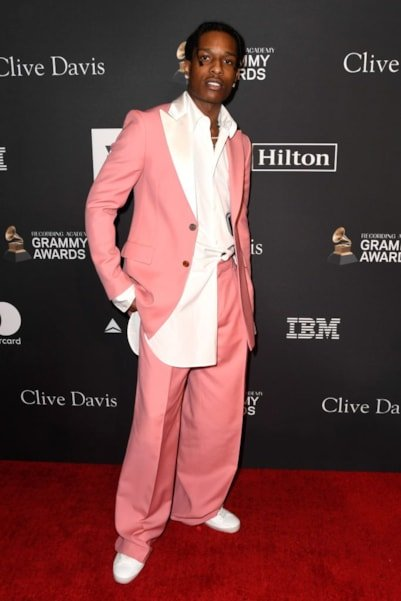 BEVERLY HILLS, CA - FEBRUARY 09:  A$AP Rocky attends the Pre-GRAMMY Gala and GRAMMY Salute to Industry Icons Honoring Clarence Avant at The Beverly Hilton Hotel on February 9, 2019 in Beverly Hills, California.  (Photo by Frazer Harrison/Getty Images for NARAS)