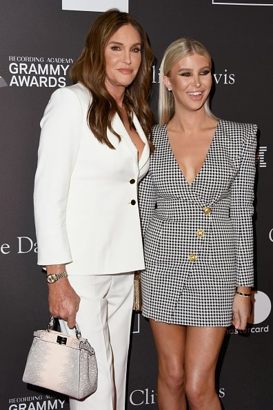 BEVERLY HILLS, CA - FEBRUARY 09:  Caitlyn Jenner (L) and Sophia Hutchins attend The Recording Academy And Clive Davis' 2019 Pre-GRAMMY Gala at The Beverly Hilton Hotel on February 9, 2019 in Beverly Hills, California.  (Photo by Jon Kopaloff/Getty Images)