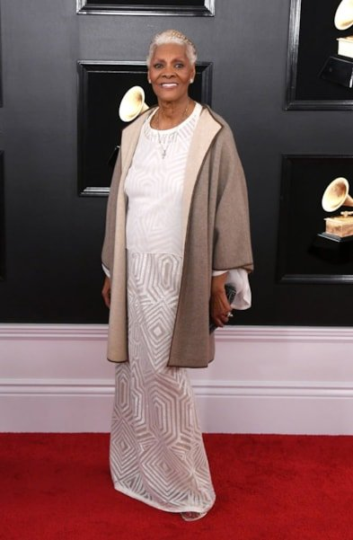 LOS ANGELES, CALIFORNIA - FEBRUARY 10: Dionne Warwick attends the 61st Annual GRAMMY Awards at Staples Center on February 10, 2019 in Los Angeles, California. (Photo by Jon Kopaloff/Getty Images)