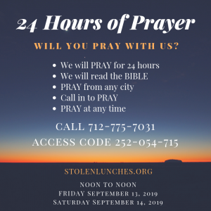 Join Fly Ty And Jacinda As We Pray For 24 hours, Praying For