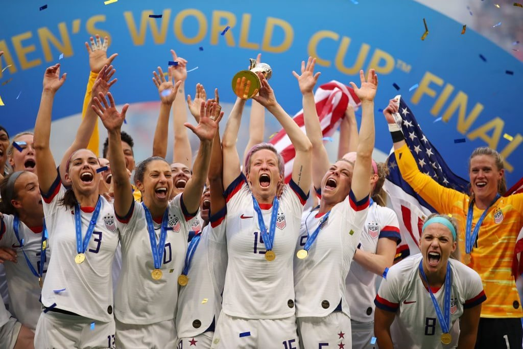 Team USA won the 2019 Women's World Cup